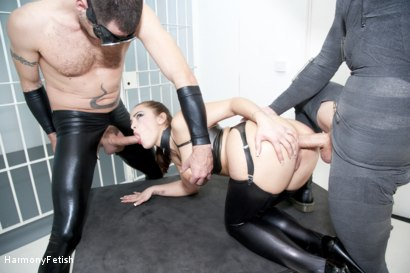 Photo number 12 from Strung out and suspended - Fetish Prison Threeway shot for Harmony Fetish on Kink.com. Featuring Liza Del Sierra, Jay Snakes and Seb Cam in hardcore BDSM & Fetish porn.