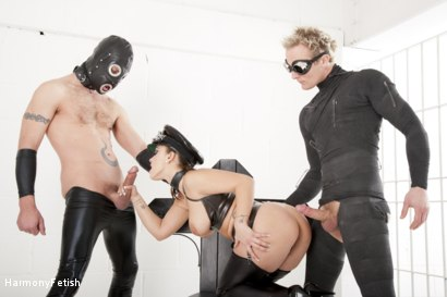 Photo number 8 from Strung out and suspended - Fetish Prison Threeway shot for Harmony Fetish on Kink.com. Featuring Liza Del Sierra, Jay Snakes and Seb Cam in hardcore BDSM & Fetish porn.