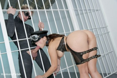 Photo number 10 from Strung out and suspended - Fetish Prison Threeway shot for Harmony Fetish on Kink.com. Featuring Liza Del Sierra, Jay Snakes and Seb Cam in hardcore BDSM & Fetish porn.
