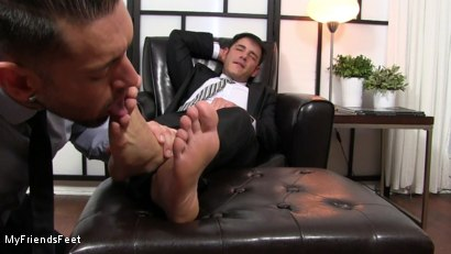Photo number 15 from Rego Dominates Alex With His Feet shot for My Friends Feet on Kink.com. Featuring Alexander Garrett and Rego Bello in hardcore BDSM & Fetish porn.