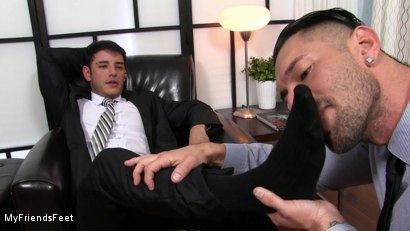Photo number 5 from Rego Dominates Alex With His Feet shot for My Friends Feet on Kink.com. Featuring Alexander Garrett and Rego Bello in hardcore BDSM & Fetish porn.