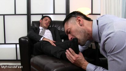 Photo number 6 from Rego Dominates Alex With His Feet shot for My Friends Feet on Kink.com. Featuring Alexander Garrett and Rego Bello in hardcore BDSM & Fetish porn.