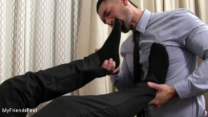 Photo number 8 from Rego Dominates Alex With His Feet shot for My Friends Feet on Kink.com. Featuring Alexander Garrett and Rego Bello in hardcore BDSM & Fetish porn.