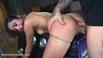 Photo number 11 from Fair Trade shot for Sex And Submission on Kink.com. Featuring Derrick Pierce and Isabella Nice in hardcore BDSM & Fetish porn.