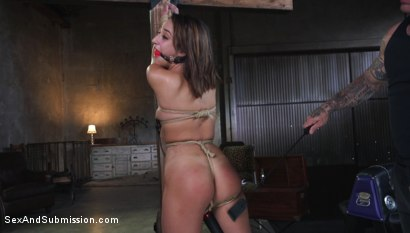Photo number 6 from Fair Trade shot for Sex And Submission on Kink.com. Featuring Derrick Pierce and Isabella Nice in hardcore BDSM & Fetish porn.