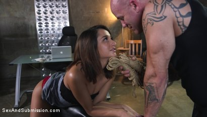 Photo number 1 from Fair Trade shot for Sex And Submission on Kink.com. Featuring Derrick Pierce and Isabella Nice in hardcore BDSM & Fetish porn.