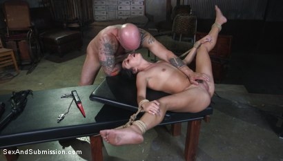 Photo number 12 from Fair Trade shot for Sex And Submission on Kink.com. Featuring Derrick Pierce and Isabella Nice in hardcore BDSM & Fetish porn.