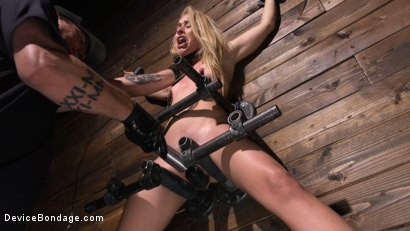 Photo number 5 from Tiny Squirting Slut Lilly Lit shot for Device Bondage on Kink.com. Featuring Lilly Lit in hardcore BDSM & Fetish porn.