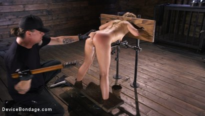 Photo number 8 from Tiny Squirting Slut Lilly Lit shot for Device Bondage on Kink.com. Featuring Lilly Lit in hardcore BDSM & Fetish porn.