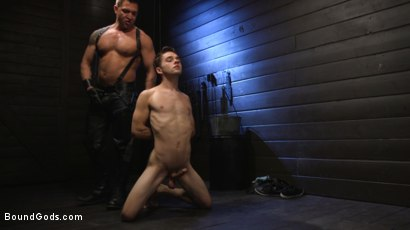 Photo number 11 from Obedient Slave, Marcus Rivers Serves Dominic Pacifico shot for Bound Gods on Kink.com. Featuring Dominic Pacifico and Marcus Rivers in hardcore BDSM & Fetish porn.