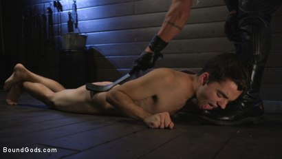 Photo number 15 from Obedient Slave, Marcus Rivers Serves Dominic Pacifico shot for Bound Gods on Kink.com. Featuring Dominic Pacifico and Marcus Rivers in hardcore BDSM & Fetish porn.
