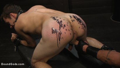 Photo number 22 from Obedient Slave, Marcus Rivers Serves Dominic Pacifico shot for Bound Gods on Kink.com. Featuring Dominic Pacifico and Marcus Rivers in hardcore BDSM & Fetish porn.