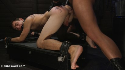 Photo number 24 from Obedient Slave, Marcus Rivers Serves Dominic Pacifico shot for Bound Gods on Kink.com. Featuring Dominic Pacifico and Marcus Rivers in hardcore BDSM & Fetish porn.