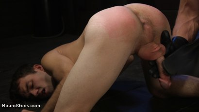 Photo number 10 from Obedient Slave, Marcus Rivers Serves Dominic Pacifico shot for Bound Gods on Kink.com. Featuring Dominic Pacifico and Marcus Rivers in hardcore BDSM & Fetish porn.