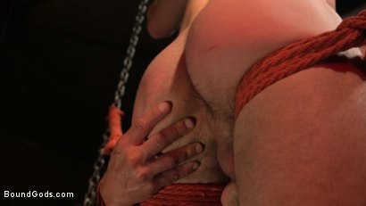 Photo number 14 from Kelly Evans Helps Himself to Scott DeMarco shot for Bound Gods on Kink.com. Featuring Scott DeMarco and Kelly Evans in hardcore BDSM & Fetish porn.