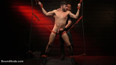 Photo number 16 from Kelly Evans Helps Himself to Scott DeMarco shot for Bound Gods on Kink.com. Featuring Scott DeMarco and Kelly Evans in hardcore BDSM & Fetish porn.