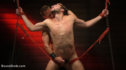 Photo number 18 from Kelly Evans Helps Himself to Scott DeMarco shot for Bound Gods on Kink.com. Featuring Scott DeMarco and Kelly Evans in hardcore BDSM & Fetish porn.
