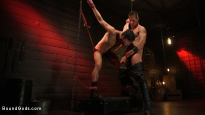 Photo number 20 from Kelly Evans Helps Himself to Scott DeMarco shot for Bound Gods on Kink.com. Featuring Scott DeMarco and Kelly Evans in hardcore BDSM & Fetish porn.