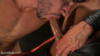 Photo number 21 from Kelly Evans Helps Himself to Scott DeMarco shot for Bound Gods on Kink.com. Featuring Scott DeMarco and Kelly Evans in hardcore BDSM & Fetish porn.