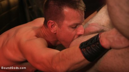 Photo number 22 from Kelly Evans Helps Himself to Scott DeMarco shot for Bound Gods on Kink.com. Featuring Scott DeMarco and Kelly Evans in hardcore BDSM & Fetish porn.