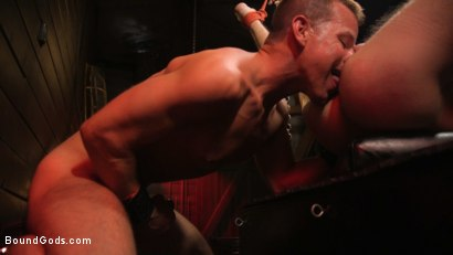 Photo number 24 from Kelly Evans Helps Himself to Scott DeMarco shot for Bound Gods on Kink.com. Featuring Scott DeMarco and Kelly Evans in hardcore BDSM & Fetish porn.