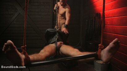 Photo number 30 from Kelly Evans Helps Himself to Scott DeMarco shot for Bound Gods on Kink.com. Featuring Scott DeMarco and Kelly Evans in hardcore BDSM & Fetish porn.
