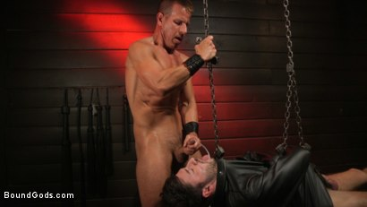 Photo number 34 from Kelly Evans Helps Himself to Scott DeMarco shot for Bound Gods on Kink.com. Featuring Scott DeMarco and Kelly Evans in hardcore BDSM & Fetish porn.
