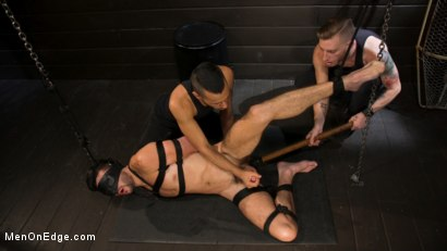 Photo number 8 from Tongued and Tickled: Scott DeMarco kept on edge shot for Men On Edge on Kink.com. Featuring Scott DeMarco in hardcore BDSM & Fetish porn.