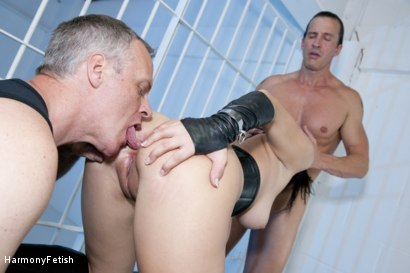 Photo number 7 from Watch this Prisoner Send her Guards Stir Crazy shot for Harmony Fetish on Kink.com. Featuring Coco Chanelle, Ian Tate and Tony De Sergio in hardcore BDSM & Fetish porn.
