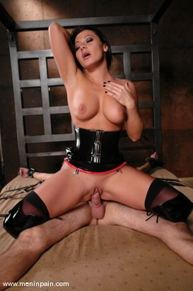 Photo number 12 from Lefty and Sandra Romain shot for Men In Pain on Kink.com. Featuring Sandra Romain and Lefty in hardcore BDSM & Fetish porn.