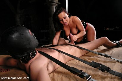Photo number 10 from Lefty and Sandra Romain shot for Men In Pain on Kink.com. Featuring Sandra Romain and Lefty in hardcore BDSM & Fetish porn.