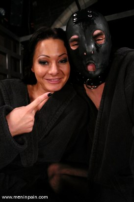 Photo number 15 from Lefty and Sandra Romain shot for Men In Pain on Kink.com. Featuring Sandra Romain and Lefty in hardcore BDSM & Fetish porn.