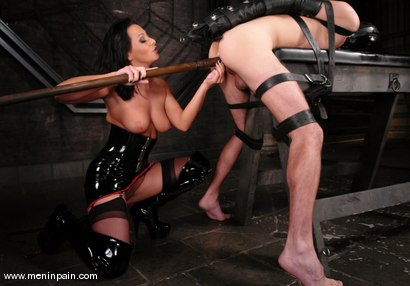 Photo number 2 from Lefty and Sandra Romain shot for Men In Pain on Kink.com. Featuring Sandra Romain and Lefty in hardcore BDSM & Fetish porn.