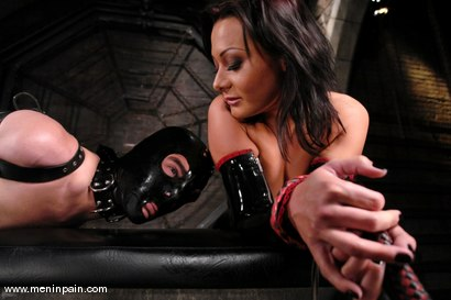 Photo number 3 from Lefty and Sandra Romain shot for Men In Pain on Kink.com. Featuring Sandra Romain and Lefty in hardcore BDSM & Fetish porn.