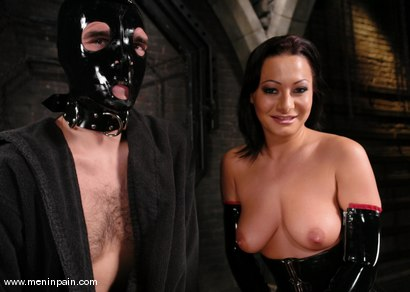 Photo number 1 from Lefty and Sandra Romain shot for Men In Pain on Kink.com. Featuring Sandra Romain and Lefty in hardcore BDSM & Fetish porn.