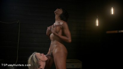 Photo number 12 from Exquisite Anguish: Dee Williams Opens Up For Natassia Dreams shot for TS Pussy Hunters on Kink.com. Featuring Natassia Dreams and Dee Williams in hardcore BDSM & Fetish porn.