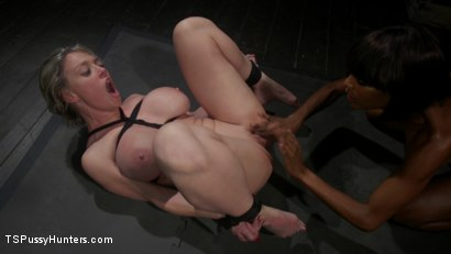 Photo number 15 from Exquisite Anguish: Dee Williams Opens Up For Natassia Dreams shot for TS Pussy Hunters on Kink.com. Featuring Natassia Dreams and Dee Williams in hardcore BDSM & Fetish porn.