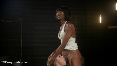 Photo number 7 from Exquisite Anguish: Dee Williams Opens Up For Natassia Dreams shot for TS Pussy Hunters on Kink.com. Featuring Natassia Dreams and Dee Williams in hardcore BDSM & Fetish porn.