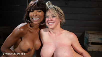 Photo number 27 from Exquisite Anguish: Dee Williams Opens Up For Natassia Dreams shot for TS Pussy Hunters on Kink.com. Featuring Natassia Dreams and Dee Williams in hardcore BDSM & Fetish porn.