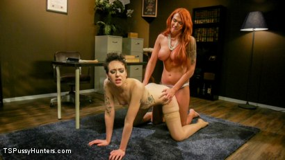 Photo number 21 from Aspen Brooks Is Too Pretty For Jail! shot for TS Pussy Hunters on Kink.com. Featuring Aspen Brooks and Lilith Luxe in hardcore BDSM & Fetish porn.