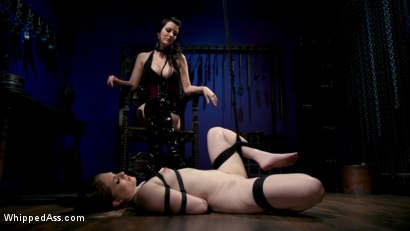 Photo number 13 from Cherry Torn's Dirty-Talking Anal Lesbian Slut shot for Whipped Ass on Kink.com. Featuring Dresden and Cherry Torn in hardcore BDSM & Fetish porn.