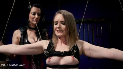 Photo number 8 from Cherry Torn's Dirty-Talking Anal Lesbian Slut shot for Whipped Ass on Kink.com. Featuring Dresden and Cherry Torn in hardcore BDSM & Fetish porn.