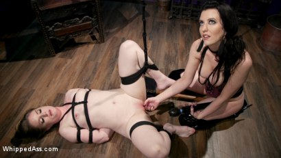 Photo number 23 from Cherry Torn's Dirty-Talking Anal Lesbian Slut shot for Whipped Ass on Kink.com. Featuring Dresden and Cherry Torn in hardcore BDSM & Fetish porn.