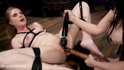 Photo number 25 from Cherry Torn's Dirty-Talking Anal Lesbian Slut shot for Whipped Ass on Kink.com. Featuring Dresden and Cherry Torn in hardcore BDSM & Fetish porn.