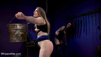Photo number 9 from Cherry Torn's Dirty-Talking Anal Lesbian Slut shot for Whipped Ass on Kink.com. Featuring Dresden and Cherry Torn in hardcore BDSM & Fetish porn.