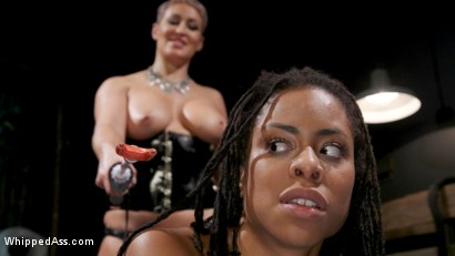 Photo number 20 from Hacked Assets: Ryan Keely Blackmails Kira Noir For Kinky Lesbian Sex shot for Whipped Ass on Kink.com. Featuring Ryan Keely and Kira Noir in hardcore BDSM & Fetish porn.