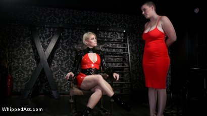 Photo number 2 from Riley Nixon's Late Slave Redemption shot for Whipped Ass on Kink.com. Featuring Riley Nixon and Helena Locke in hardcore BDSM & Fetish porn.