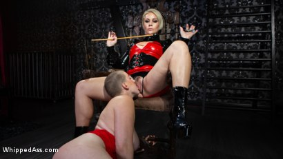 Photo number 7 from Riley Nixon's Late Slave Redemption shot for Whipped Ass on Kink.com. Featuring Riley Nixon and Helena Locke in hardcore BDSM & Fetish porn.