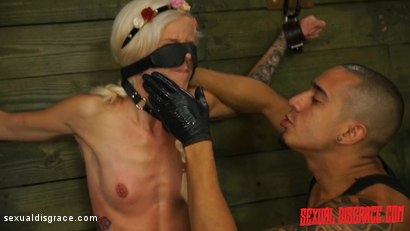 Photo number 5 from Halle Von Sexual Disgrace Hollering Hippy shot for Sexual Disgrace on Kink.com. Featuring Halle Von and Bruno Dickemz in hardcore BDSM & Fetish porn.