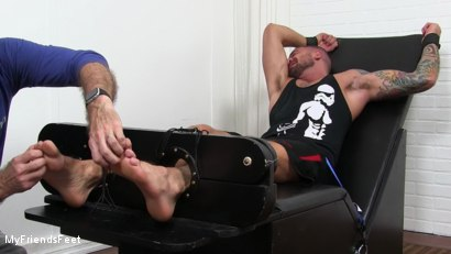 Photo number 6 from Dolf Gets Tickled Naked shot for My Friends Feet on Kink.com. Featuring Dolf Dietrich and Hugh Hunter in hardcore BDSM & Fetish porn.